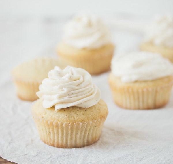 Vaniglia cupcakes