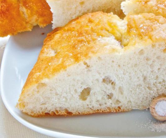 Pane di patate al sale rosa dell'Himalaya