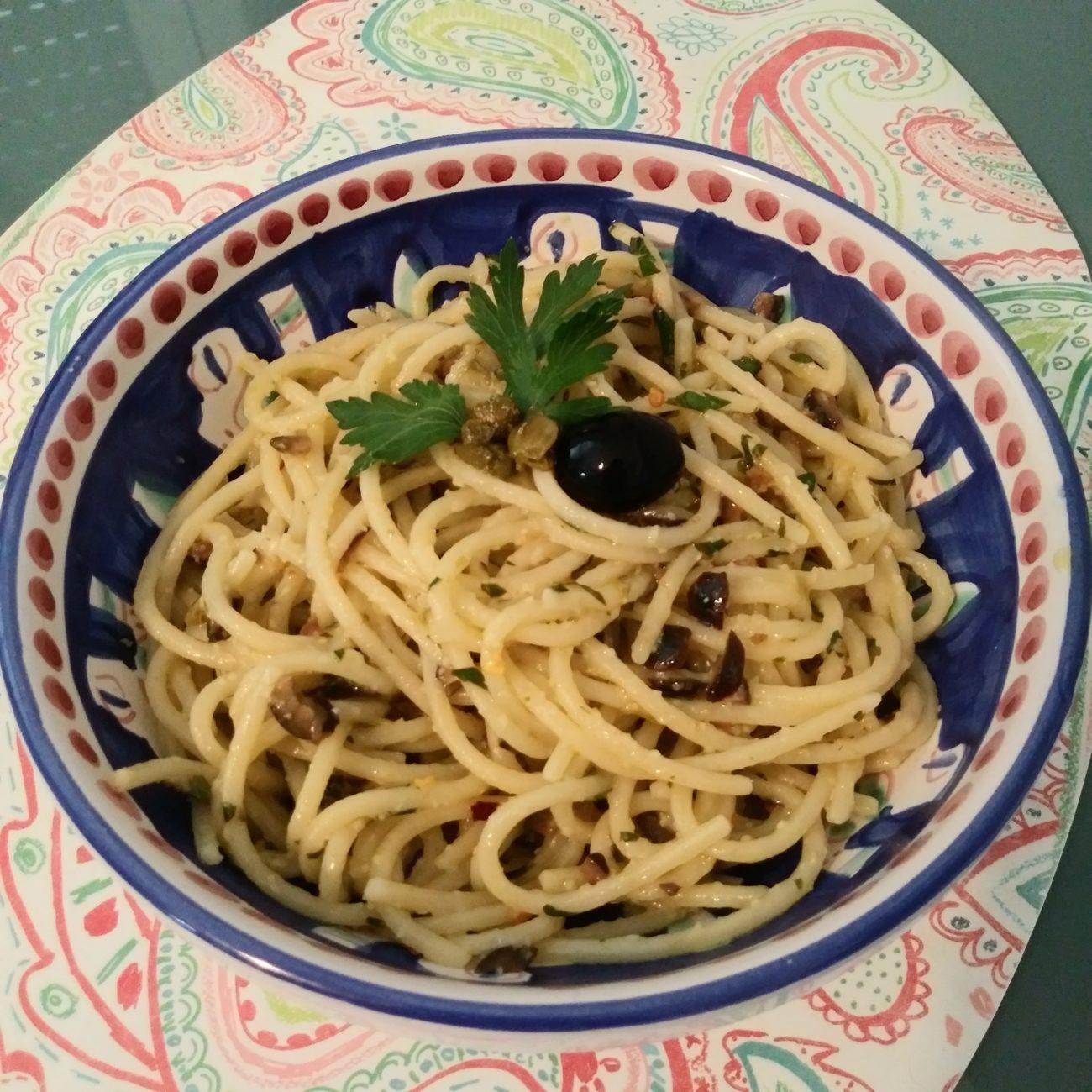 Spaghettoni al limone